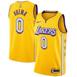 Los Angeles Lakers Kyle Kuzma City Jersey